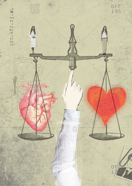 Doctor tries to balance his emotional attachment to a patient