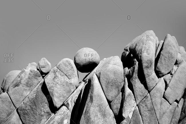 Giant Marbles in Joshua Tree National Park, California