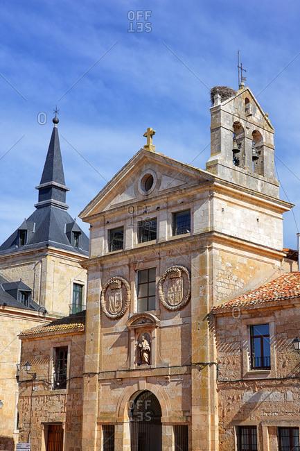 Spain- Province of Burgos- Lerma- Facade of Convento San Blas