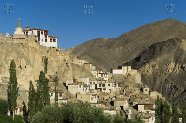The Kamayura Gompa monastery photo from the Offset Collection