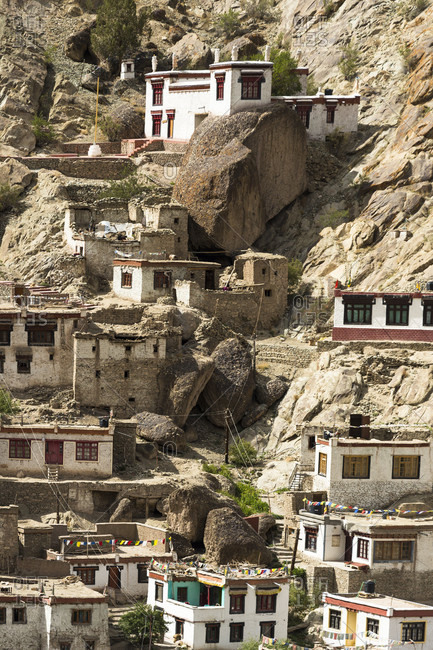 The Hemis Gompa monastery photo from the Offset Collection
