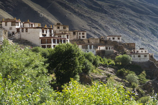 The Mune Gompa monastery photo from the Offset Collection