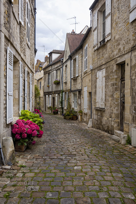 Senlis, old town photo from the Offset Collection