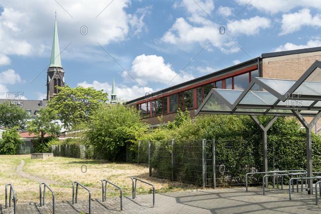 Duisburg Meiderich, Max-Planck Gymnasium, Hollenberg