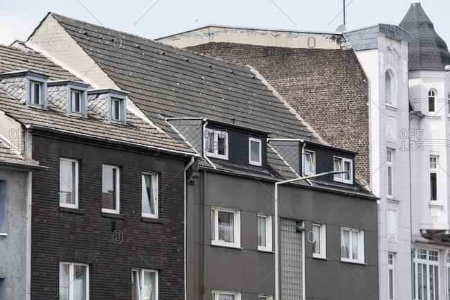 Apartment buildings in Duisburg Meiderich
