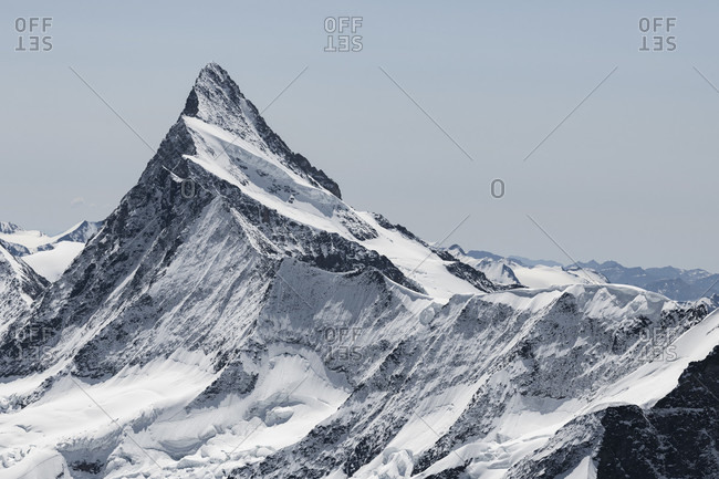 Switzerland, Canton of Bern, Bernese Oberland, Bernese Alps, Finsteraarhorn
