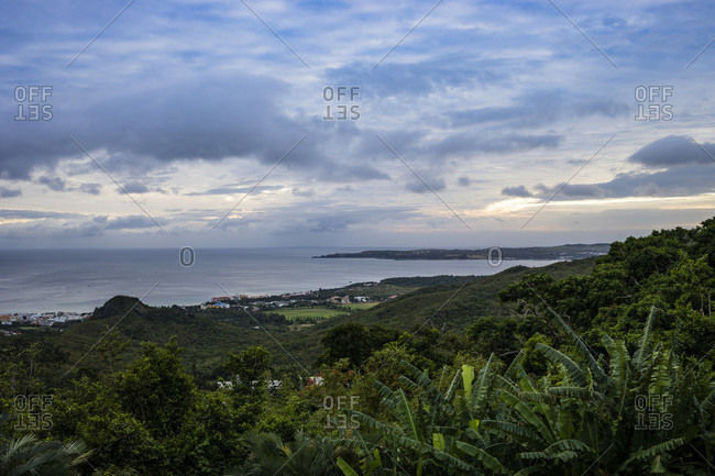 Pacific Ocean  Views in the Kenting National Forest Recreation Area