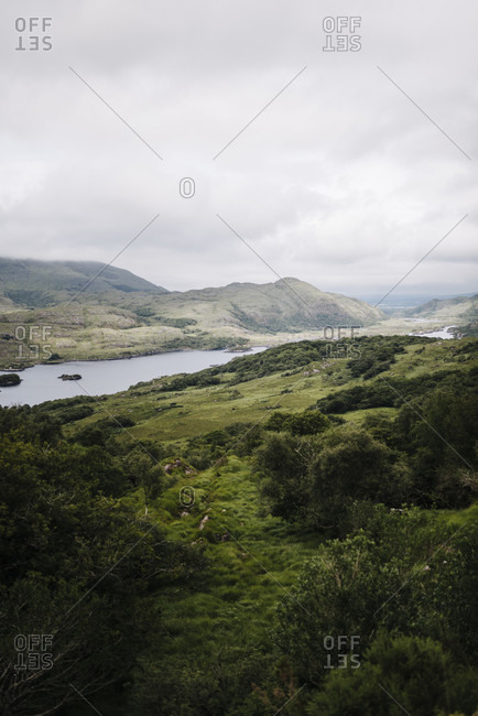 View of Upper Lake from Ladies' View, Killarney National Park, Ireland