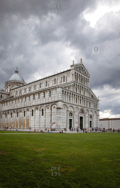 June 17, 2018: Santa Maria Assunta, Duomo, Pisa, Tuscany, Italy