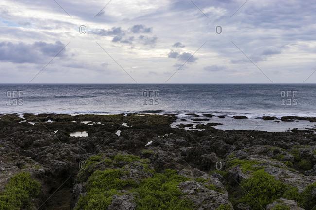 Ocean view at Eluanbi Lighthouse in Kenting National Park