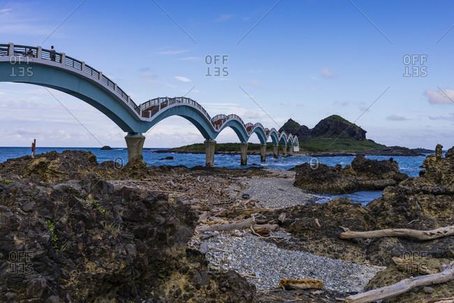Sanxiantai Arch Bridge, Taidong County, East Taiwan Coast