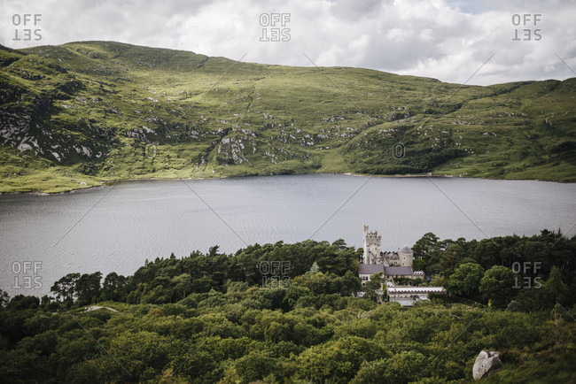 View over Lough Vega in Glenveagh National Park, Ireland