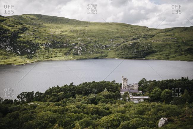 View over Lough Vega in Glenveagh National Park, Ireland