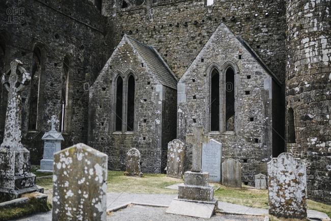 July 19, 2018: Cormac's Chapel, Rock of Cashel, Ireland