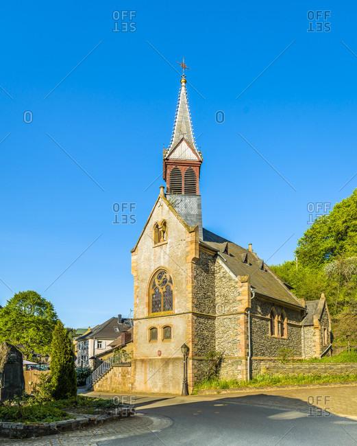 Church in Argenschwang, Rhineland-Palatinate, Germany