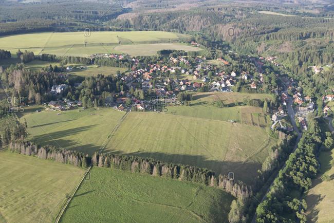 Germany, Saxony-Anhalt, Sorge, resort in the Harz.