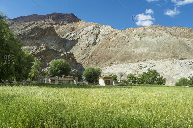 The village of Chilling in the Hemis National Park