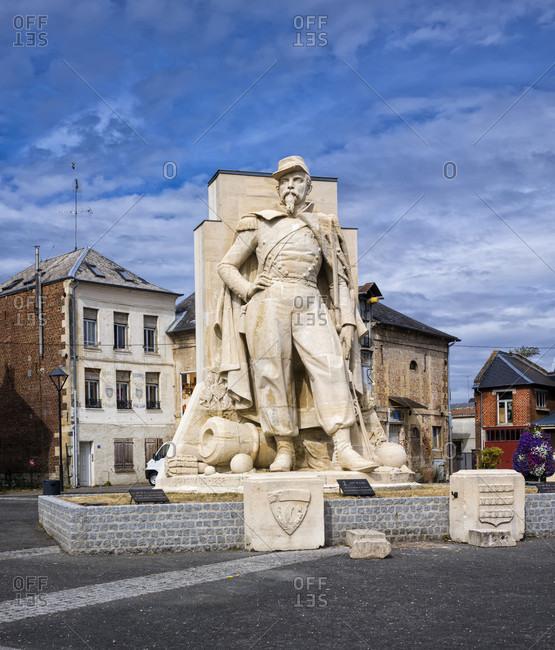 July 14, 2020: Napoleon III monument in La Fere