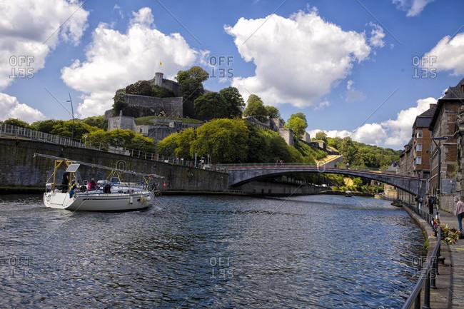 July 12, 2020: Namur, citadel over the Sambre