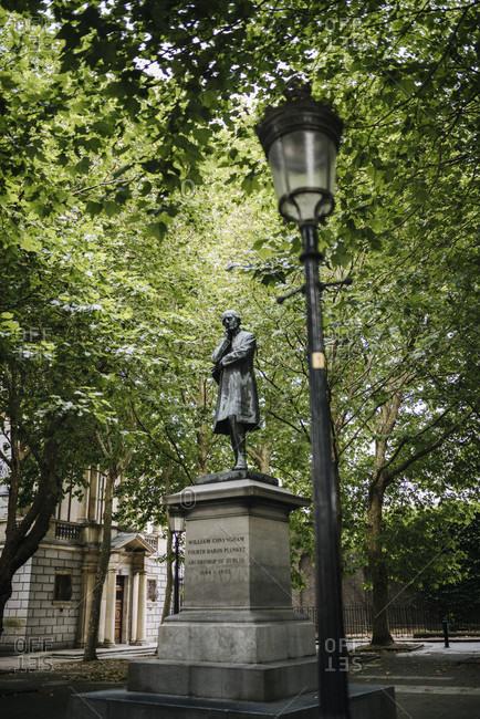 Statue of William Conyngham, Dublin, Ireland