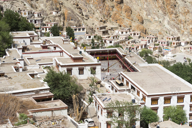 July 10, 2018: The Hemis Gompa monastery