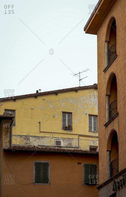 House, Lucca, Tuscany, Italy, city