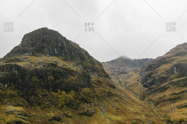 Glen Coe Valley in Scotland