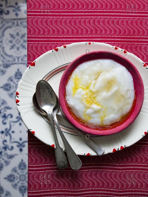 Motoho or Umdoko, Sour Maize meal porridge