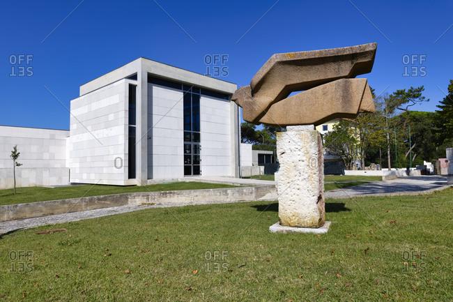 September 29, 2020: Leopoldo de Almeida Museum, Art Center, Dom Carlos Park, Caldas da Rainha, Estremadura, Portugal, Europe