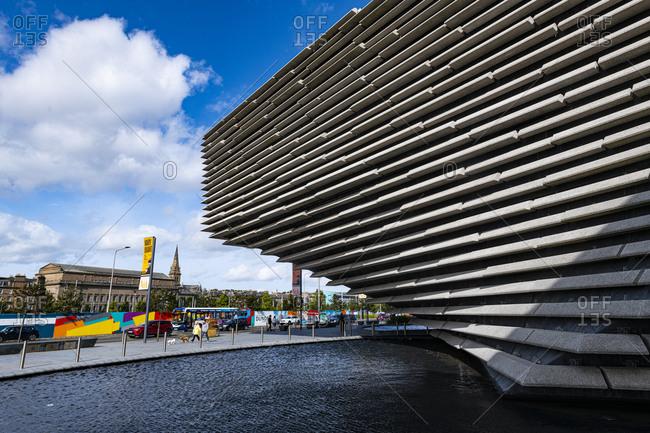 September 12, 2020: V&A Dundee, Scotland's design museum, Dundee, Scotland, United Kingdom, Europe
