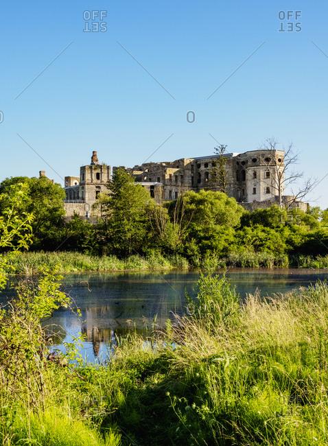 Krzyztopor Castle in Ujazd, Swietokrzyskie Voivodeship, Poland, Europe