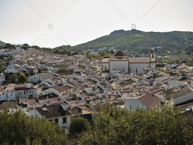 Looking down on Castelo De Vide