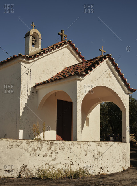 Old church in Portuguese countryside
