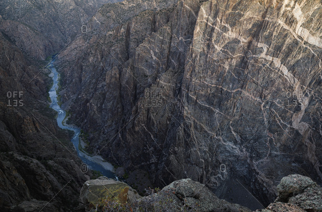 canyon of the Black Canyon of the Gunnison National Park
