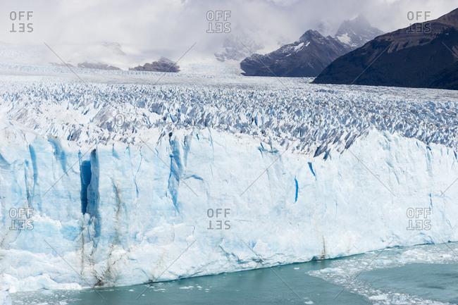 Idyllic view of perito moreno glacier, patagonia, argentina