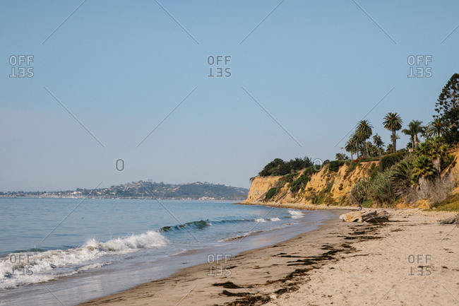 Butterfly Beach in Montecito, California