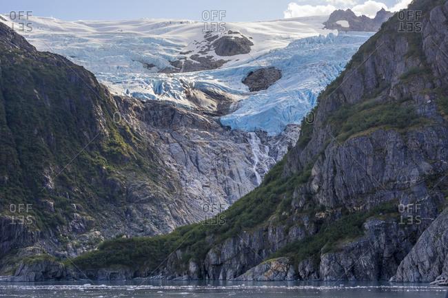 Holgate glacier, aialik bay, kenai fjords national park, kenai peninsula borough, southcentral alaska, alaska, usa