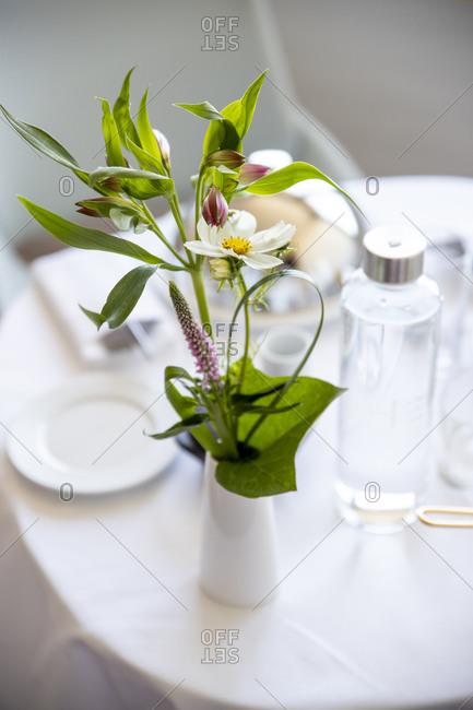 Bouquet of flower in patient room