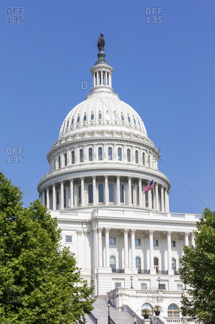 June 9, 2018:  - June 9, 2018: USA- Washington DC- United States Capitol on Capitol Hill