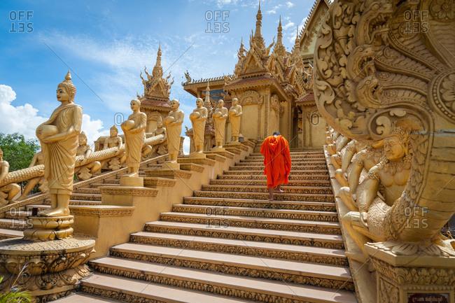 Wat Khleang, Phnom Penh, Cambodia - 08 September 2012