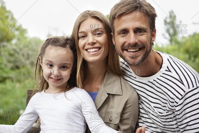 Portrait of happy Happy Family