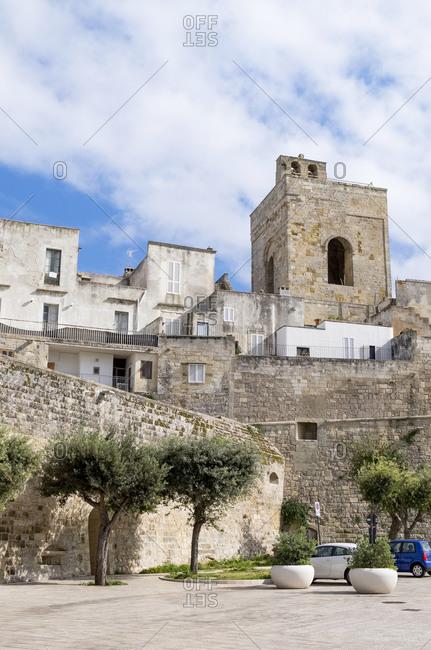Italy- Apulia- Otranto- Old city wall