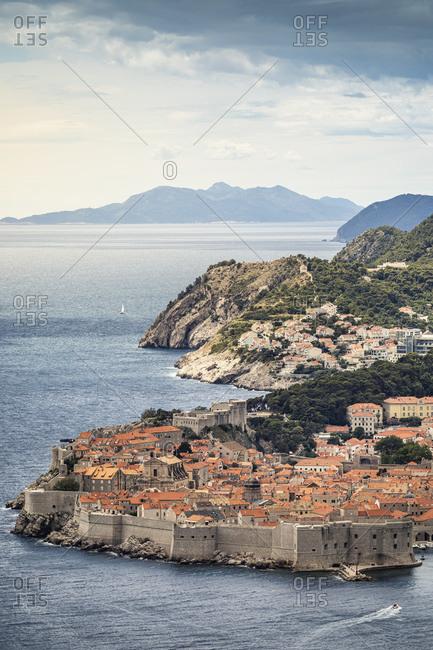 Croatia- Dubrovnik- Old town on sea coast
