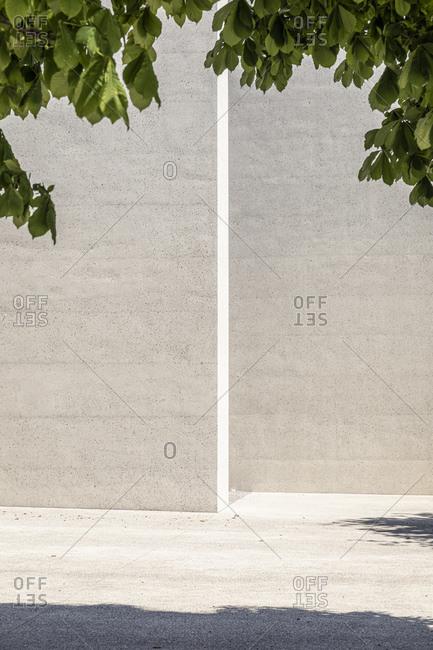 Slovenia- Ljubljana- Monument to the Victims of All Wars (Spomenik rtvam vseh vojn)- Concrete wall