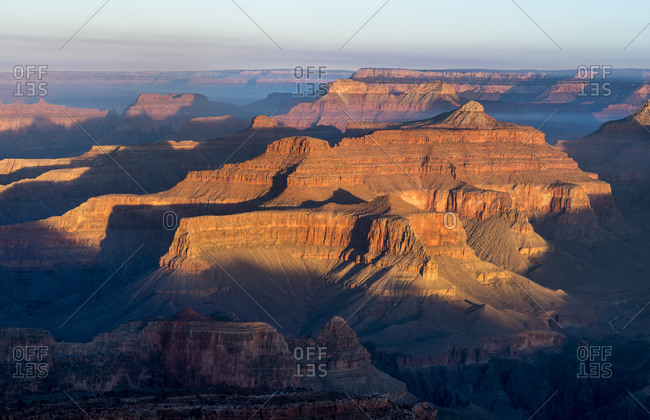 Sunrise from the south rim of the Grand Canyon