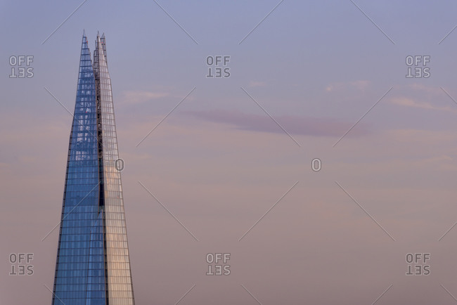 Tower 42, London, United Kingdom, London, London, United Kingdom - July 21, 2015: The Shard