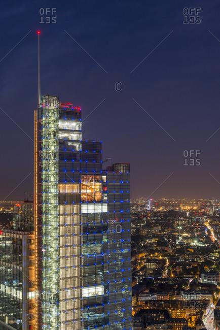 Tower 42, London, London, United Kingdom - July 21, 2015: Heron tower