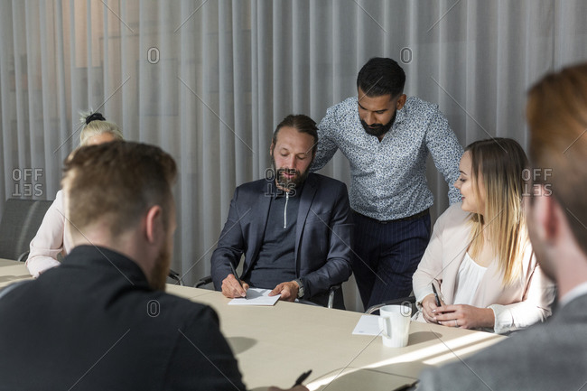 People at business meeting - Offset Collection