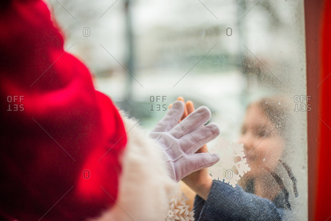 Connecting with Santa during Covid
