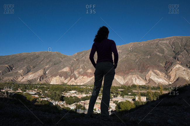 The valley of the Painter's Palette in Jujuy province, Argentina